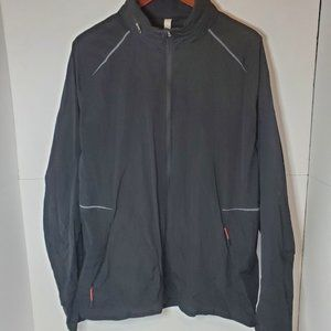 Lululemon mens windbreaker light jacket black XXL